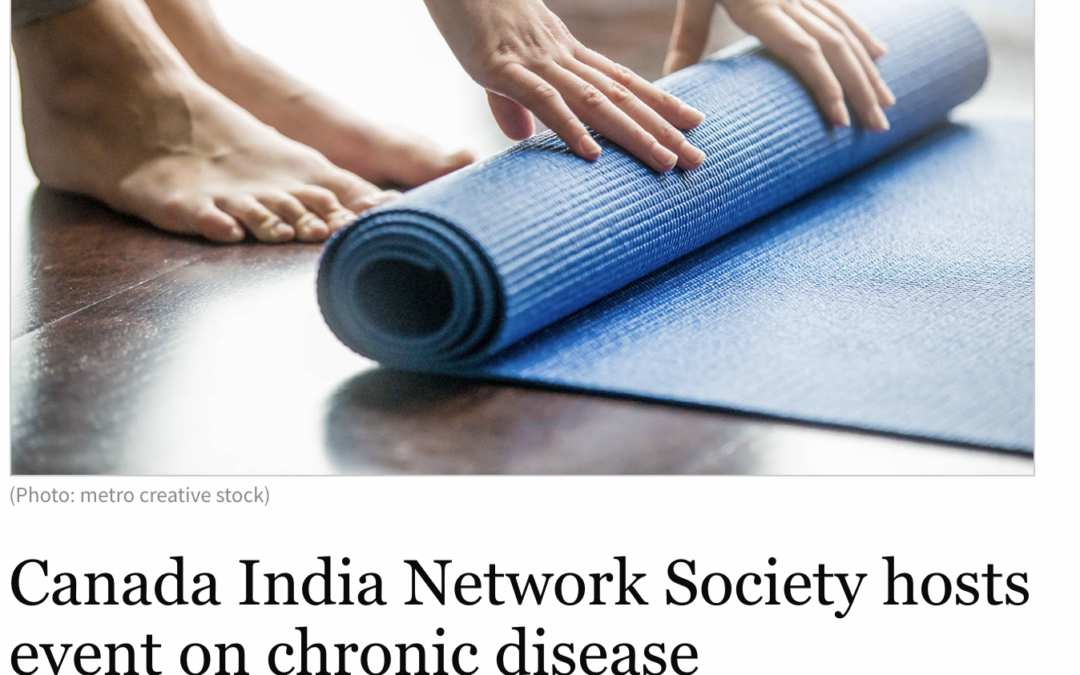 Surrey Now-Leader: Canada India Network Society hosts event on chronic disease